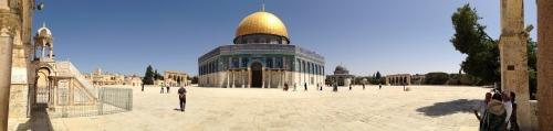 Gerusalemme. Cupola della Roccia.